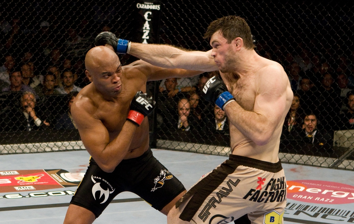video review : Anderson Silva versus Forrest Griffin at UFC 101