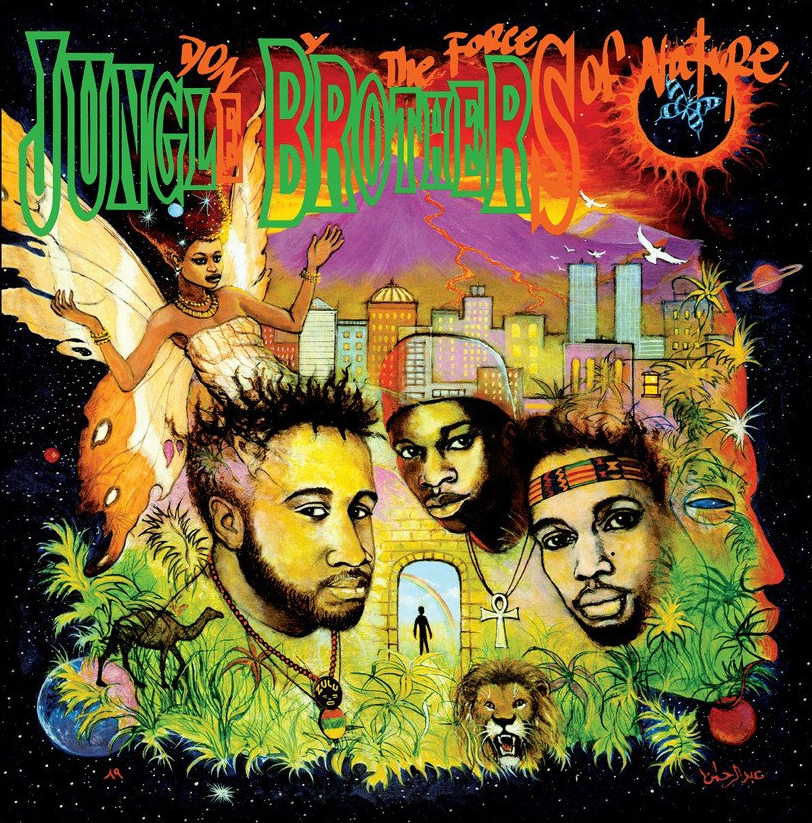 audio review : Done By The Forces Of Nature ( album ) ... Jungle Brothers