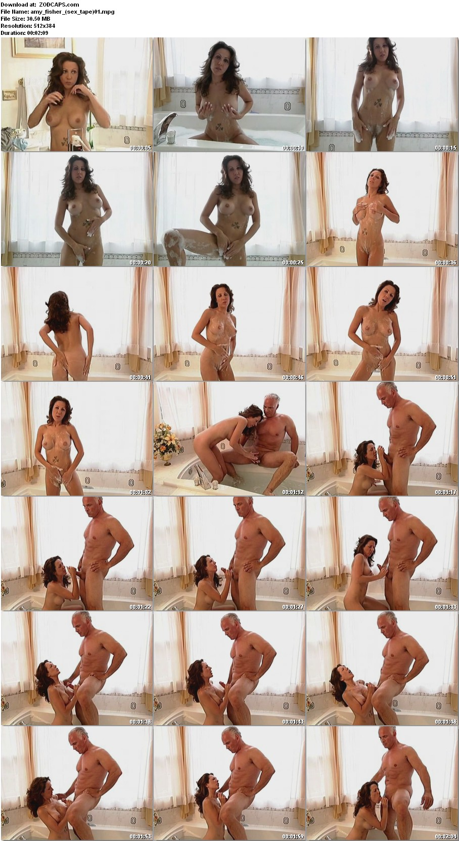 Amy Fisher Sex Tape screenshots from amy fisher's sex tape