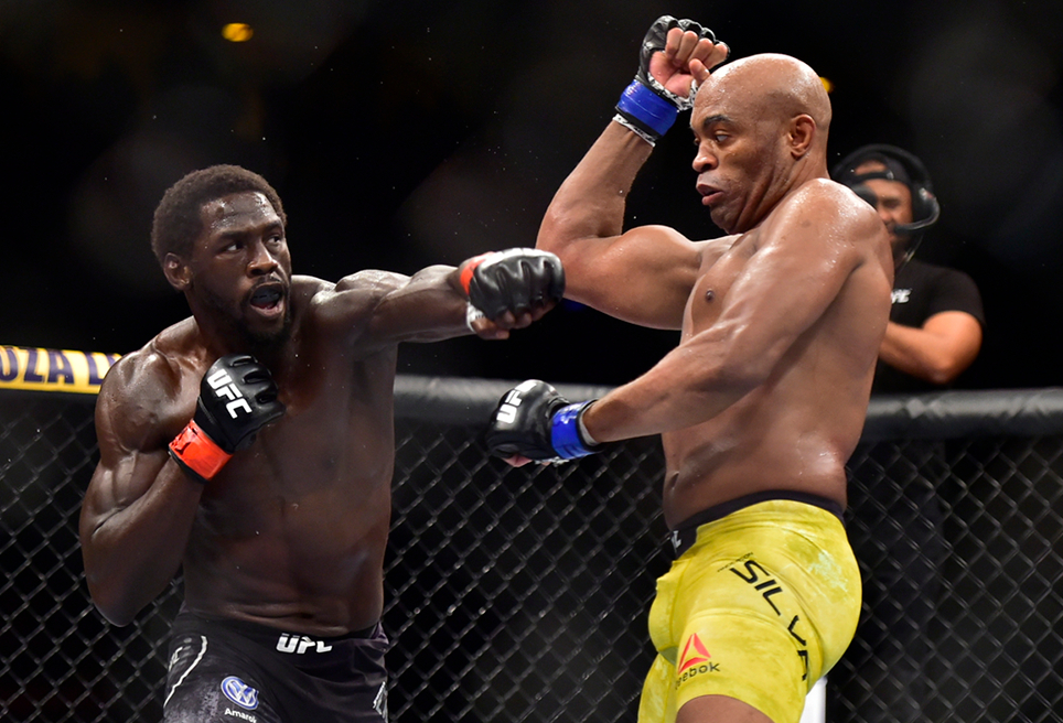 video review : Jared Cannonier versus Anderson Silva at UFC 237