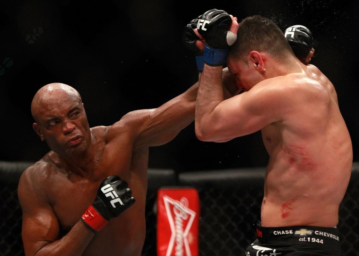video review : Anderson Silva versus Nick Diaz at UFC 183
