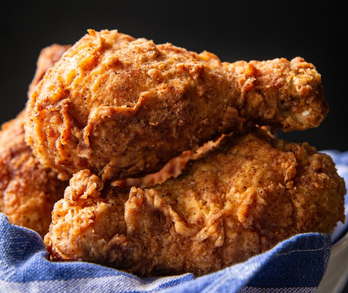 sourdough fried chicken