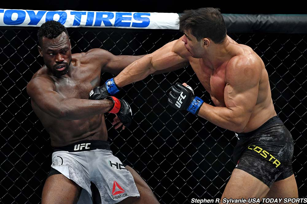 video review : Uriah Hall versus Paulo Costa at UFC 226